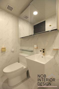 [인천인테리어]마블타일로 꾸민 예쁜 화장실(욕실)인테리어 + 인천 부평구 십정동 뜨란채 아파트 (동암신동아) -노브인테리어