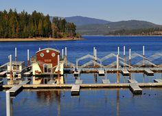 Lake Pend Orielles, Idaho