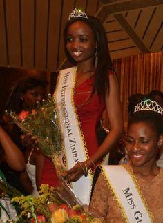 Michelle Munyanduki, Miss Zimbabwe International 2013 (not confirmed and not present)