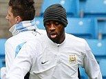 Criticism: Toure took some flak for the way his partnership with Demichelis was exposed in the defeat to Chelsea