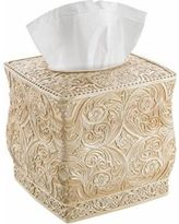 Decorative Tissue Box Cover Vtg Kleenex Tissue Box Holder Cover Frosted Clear Faux Mother Of