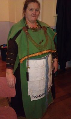 Finnish outfit.  Ok, the wrong apron.