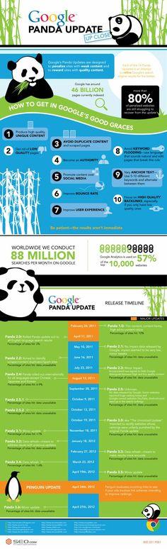 Atualização do Google Panda. O que muda para SEO?