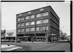 The Van Allen Bldg, Clinton, Iowa, 1913-14  |  Louis H. Sullivan, architect