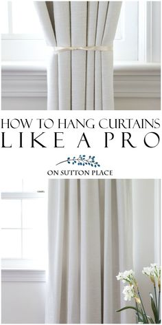 How To Hang Curtains Like A Pro