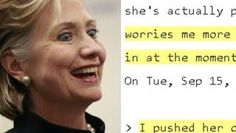 WIKILEAKS New Podesta Email Reveals Concern Over Hillary's Sanity
