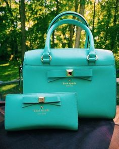 basically any Kate Spade bag, especially if it has a bow on it (triple points if it is a shoulder bag)