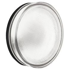 Kioto Outdoor Wall/Ceiling Light by Leucos Lighting at Lumens.com $162 requires CFL??? 9 W 120 Volt GX53 fluorescent  4.38 diameter 2 deep wall plate is 4 inch