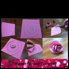 Flower paper craft pinterest flower crafts flower paper and flower mightylinksfo