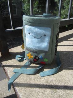 BMO of adventure time  chalk bag shortlimbed version by hapbea, $95.00