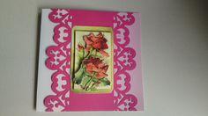 mooie kaart met rozen