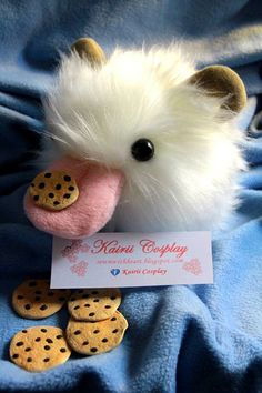 Poro plush by KairiiCosplayShop on Etsy, €25.00. kawaii plush toys