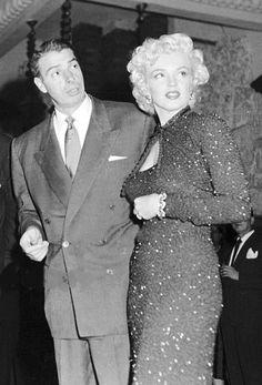 Marilyn Monroe and Joe DiMaggio in Japan 1954