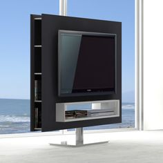 The unique Braga Swivel TV Unit by J&M Furniture is on a class of its own for many reasons. It features a swivel option giving you flexibility for placement in your home! Tv Stand Unit, Tv Unit, Contemporary Bedroom Furniture, Modern Bedroom, Tv Stand Room Divider, Tv Stand Furniture, Swivel Tv Stand, Rack Tv, Cool Tv Stands