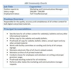 1000 images about church administrator on pinterest job description church and church office