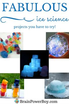 Ice science projects