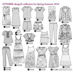 Ottobre 02/2014 Woman Frühling/Sommer EASY-WEAR ESSENTIALS CONTEMPORARY ELEGANCE [fu-upload-form]
