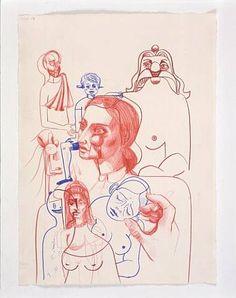 Mental Sketch – George Condo