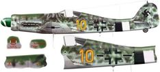 Focke Wulf 190 D Ww2 Aircraft, Military Aircraft, Ta 152, Focke Wulf 190, Aviation Art, Luftwaffe, World War Ii, Wwii, Camouflage