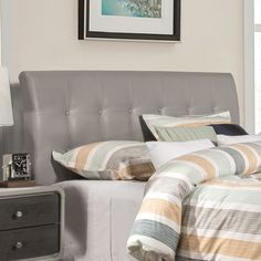 Full Size $122.34 Found it at Wayfair - Griffith Upholstered Panel Headboard