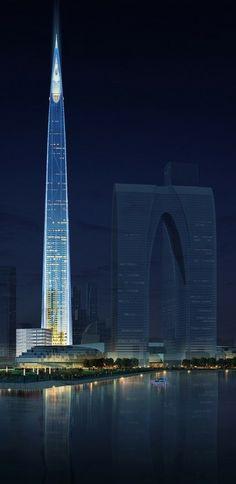 Suzhou Zhongnan Center, Suzhou, China by Gensler Architects :: 138 floors, height 700m