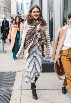Um Raio De Sol Na Água Fria : Olivia Palermo at New York Fashion Week