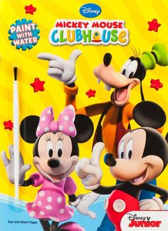 Disney Mickey Mouse Clubhouse Paint with Water