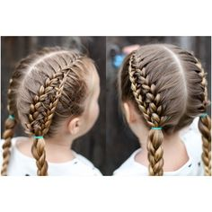 """""""Charlie wearing our French ladder braids pigtail style. Learn this style in the link in my bio in @cutoutandkeep superstar of the week feature! There will…"""""""