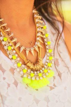 Mix de colares com texturas super diferentes!