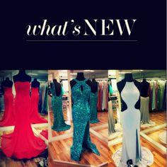 Prom 2015 is arriving! Love these dresses?! Many are already here and more to come! We love Tony Bowls and Mac Duggal. Who is your favorite? Comment below your favorite designer, we'd love to know! #prom2015 #tonybowls #macduggal