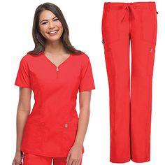 Women's Scrub Sets and Medical Uniforms at Discount Prices Best Nursing Shoes, Nursing Dress, National Nurses Week, Medical Scrubs, Nursing Scrubs, Lol, Scrub Sets, Dress Codes, V Neck Tops