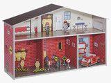 Children: Toy: cardboard fire station