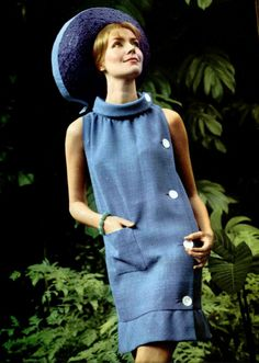 L'Officiel magazine 1965 Pierre Cardin I wish they still made fashion like this!