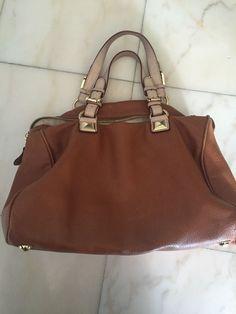 60ac6ddf5234 MICHAEL Michael Kors  Bedford Large  Bowling Satchel Handbag