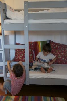MYDAL bunk from IKEA PAINTED  Little Stitches: bunk