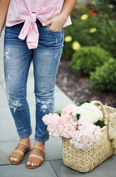 ccc6758cf46ba make it pink. perfect neutral summer sandals on dress cori lynn Tie Shirts