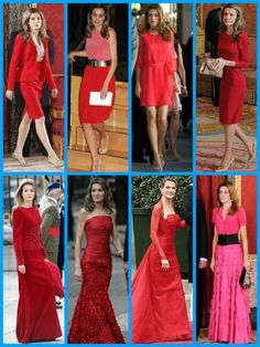 royalsandquotes:  Royal Ladies in RED (and pink) - Crown Princess Letizia of Spain