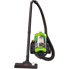 bissell powerforce bagless canister vacuum 2156w green