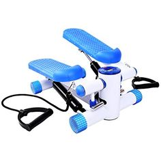 buy now   £34.99   Fitness Stepper With Ropes Exercise Arms Legs Workout Toner The Aerobic Fitness Stepper is perfect for use at home and can provide a quick easy full workout  ...Read More