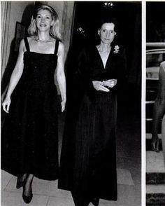 Susan Gutfreund and Jayne Wrightsman