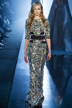 See the Alexandre Vauthier spring/summer 2015 couture collection