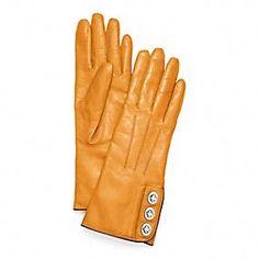 Coach  - 3 Turnlock Gloves @ www.coach.com