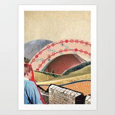 Arc+(Beige)+by+Zabu+Stewart+Art+Print+by+Zabu+Stewart+-+$17.00