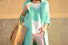 Mint Trench <3