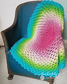Ravelry: Lotus Flower Blanket pattern by Hooked by Robin