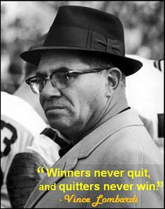 American football but a great quote anyway, for any athletics. Gotta accept this one here.