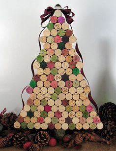 Cork Christmass tree 01 Merry Christmas Images, Merry Xmas, Christmas Eve, Wine Tasting, Happy Holidays, Event Planning, Gingerbread, Sweet Home, Handmade
