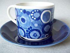 Rörstrand Pi tekopp Coffee Cups, Tea Cups, Kitchenware, Tableware, Fika, Porcelain Ceramics, Retro, Kitchen Accessories, Stoneware