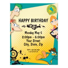 528 best cute custom personalized kids birthday party invitations