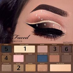 See this Instagram photo by Kiran Thandi • 1,348 likes - Too Faced Semi Sweet Chocolate Bar Palette